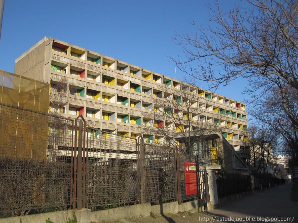 Paris pavillon du bresil le corbusier l costa - Maison du bresil paris ...