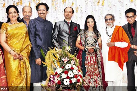 Bal thackeray granddaughter wedding