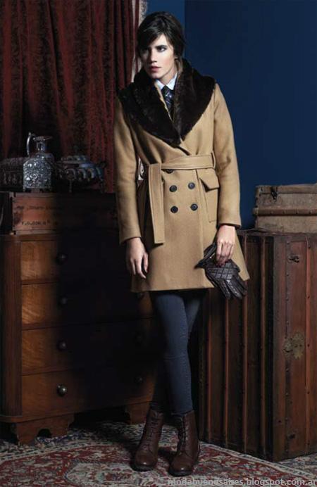 Abrigos 2014: Tapados y sacos de moda mujer invierno 2014 en Argentina, marca Cardón.