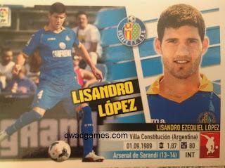 Último Fichaje 59 Lisandro López