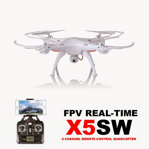 Syma X5SW Quadcopter Drone Android and iphone