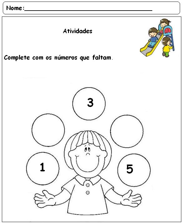 Muito Blog Professor Zezinho : Atividades Variadas Para Salas do Pré Escolar OX59