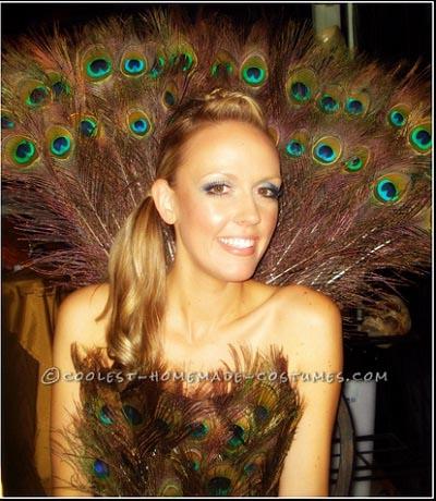 Sexy Peacock Girl