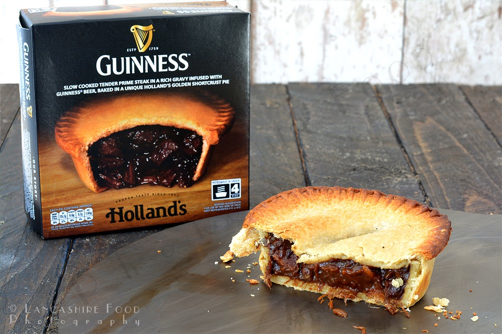 Lancashire Food: Hollands new Steak and Guinness Pie