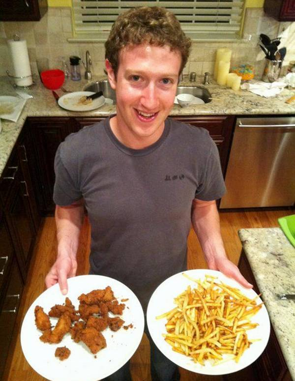 Mark Zuckerberg with his Family