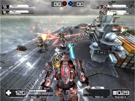 Free Download Games - Battle Rage The Robot Wars
