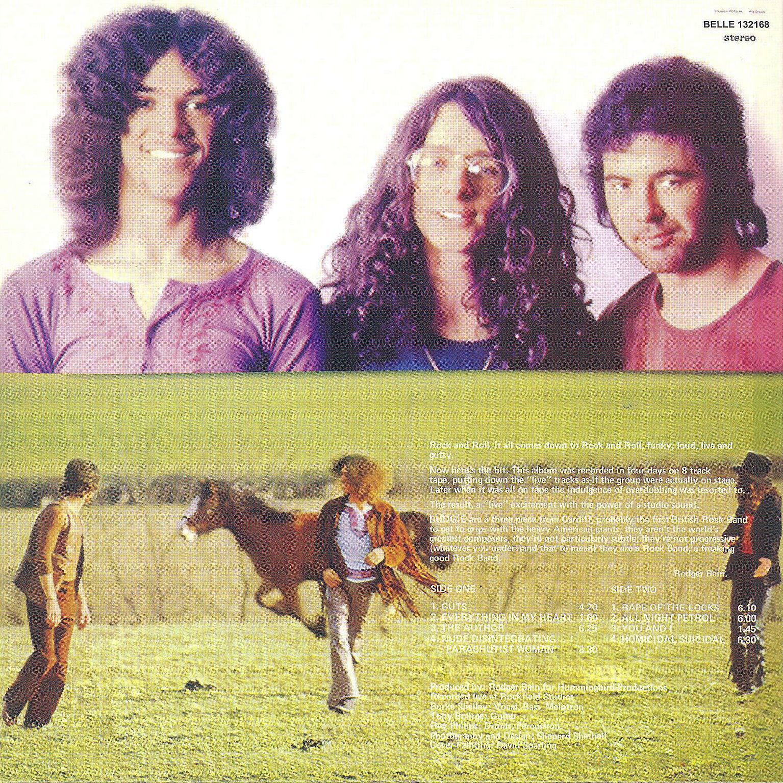 Budgie - Selftitled (1st Album Superb Hardrock UK 1971