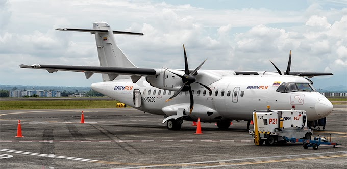 Easyfly plantea tres limitantes para volar sus ATR 42 a Málaga