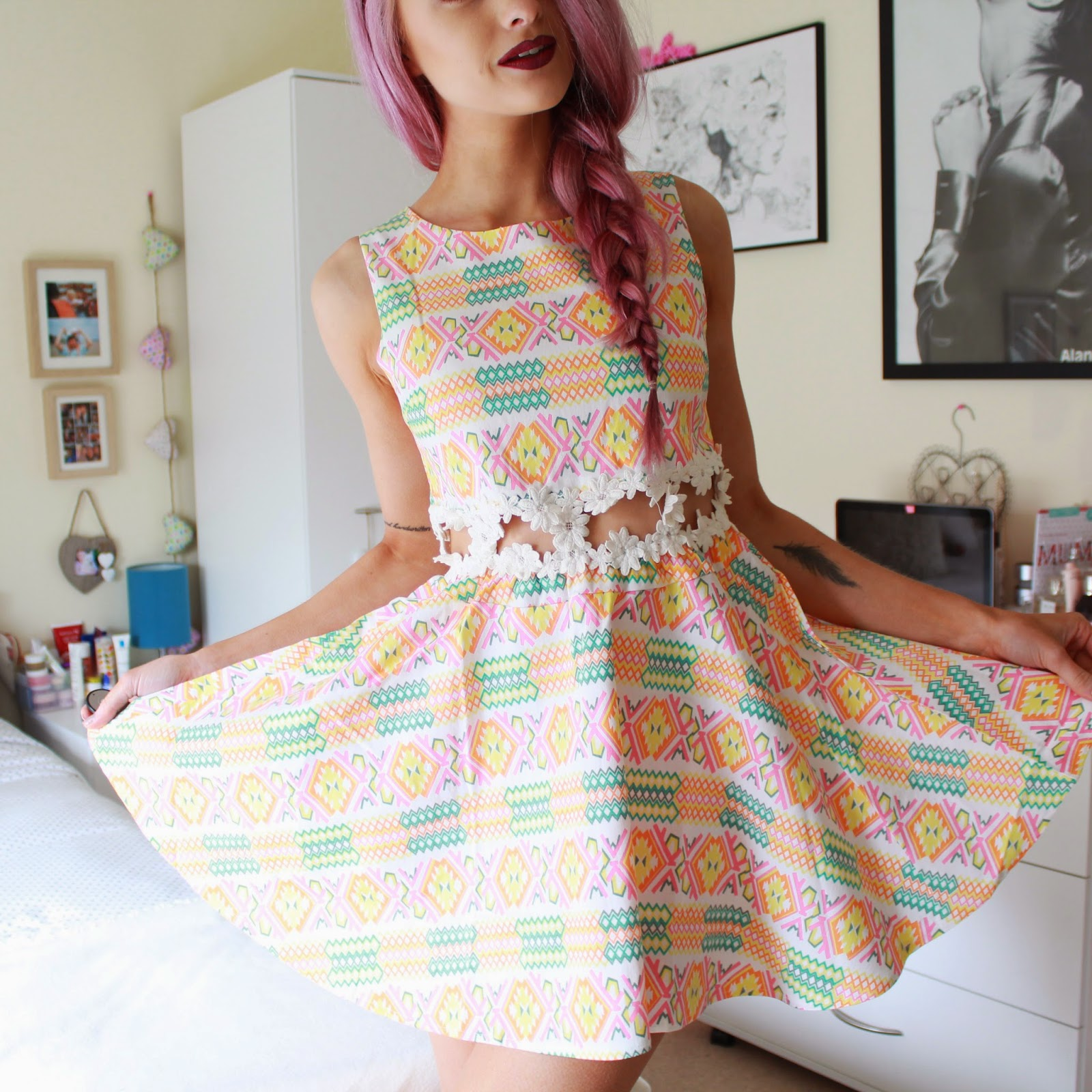 Sabo Skirt Lollipop dress at wonderland clothing