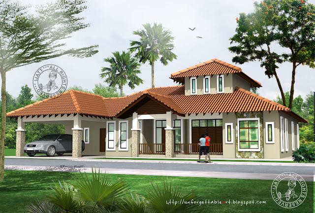 Single storey banglo