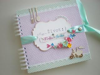Kniha hostí / Wedding guest book