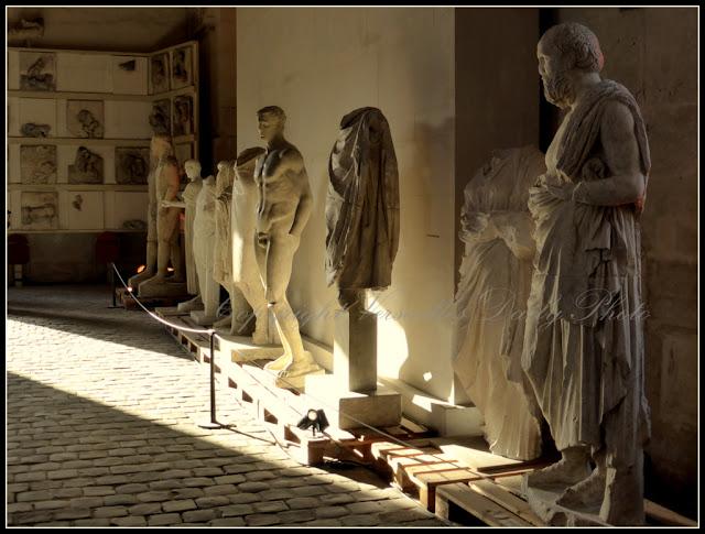 Galerie des Sculptures et moulages Versailles