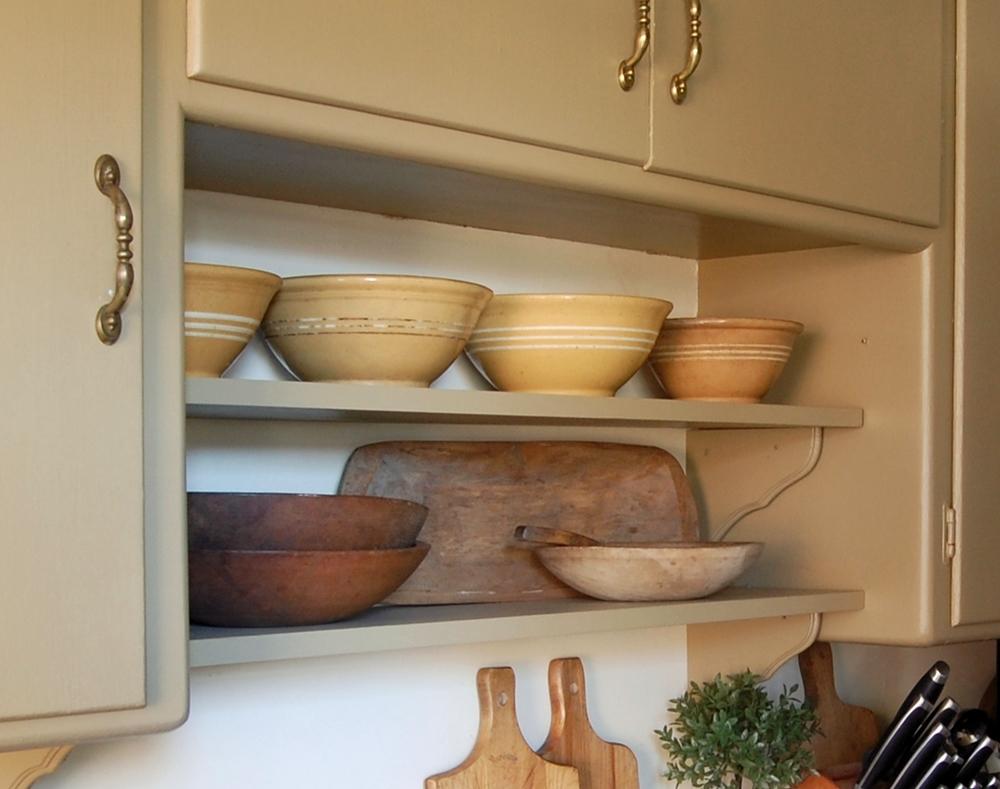 Frog Goes to Market DIY Open Kitchen Shelves