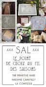 xxx SAL xxx Le Point De Croix au Fil Des Saisons-Claudia & Paola