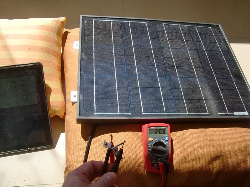 Instapark® 30W Mono-crystalline Solar Panel