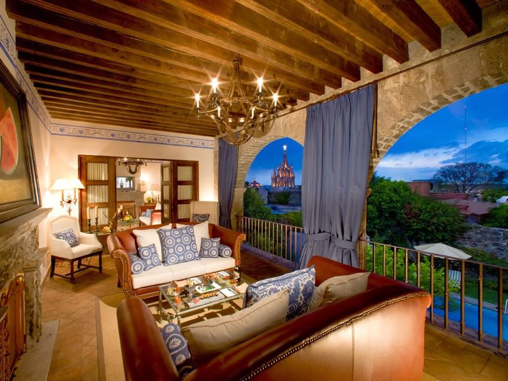 passion for luxury casa de sierra nevada in san miguel. Black Bedroom Furniture Sets. Home Design Ideas