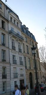 Façade du 43 quai de Bourbon à Paris