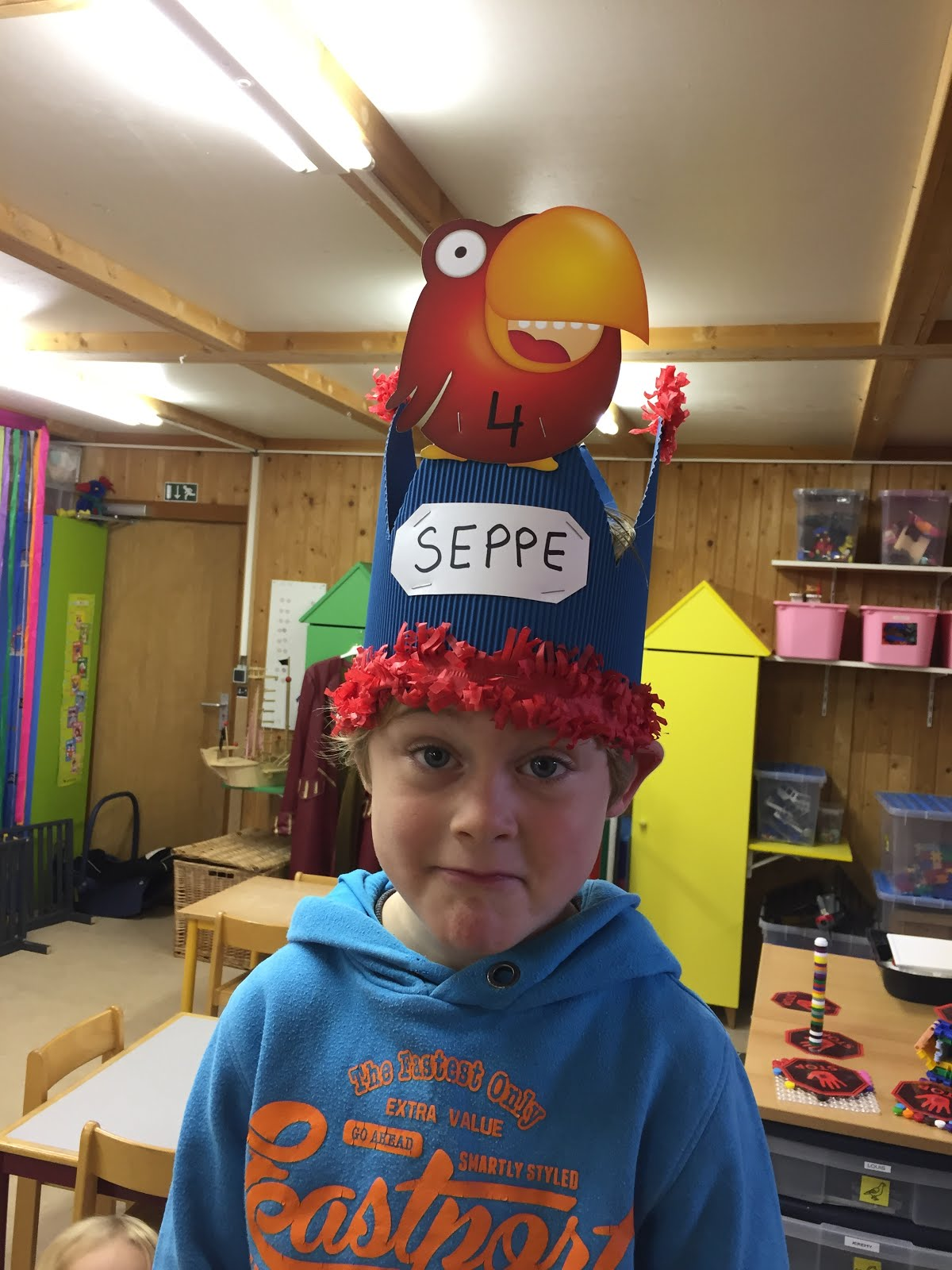 Seppe is 4!