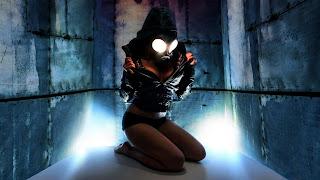 Nice Girl Body Toxic Mask HD Wallpaper