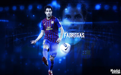 Wallpapers Cesc Fabregas Barcelona 2012-2013