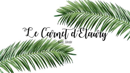 Le carnet d'Elaury