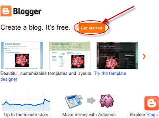 blogger tricks, tips, create a blog