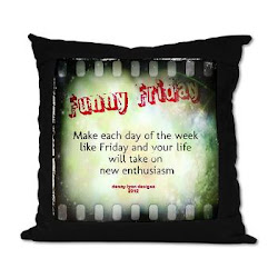 Funny Friday Enthusiasm Suede Pillow
