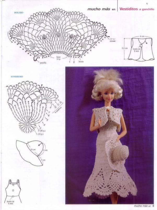 Todo sobre la Barbie: Revista Barbie - Crochet