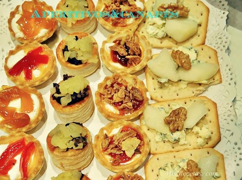 Mis recetas com aperitivos y canap s for Canapes y aperitivos