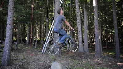 Terbang dengan Sepeda