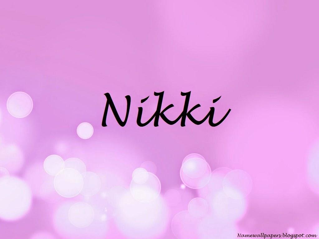 Nikki Name Wallpapers Nikki Name Wallpaper Urdu Name Meaning Name