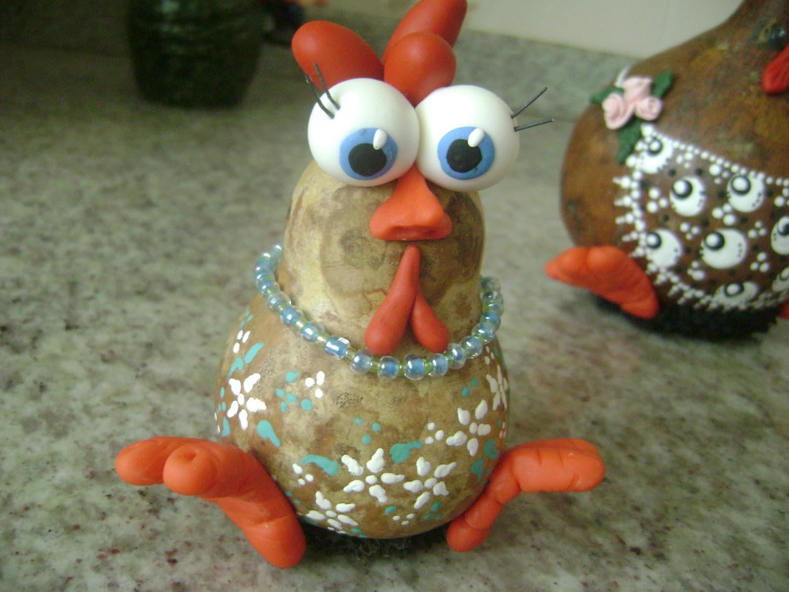 Aparador Com Gavetas Para Quarto ~ La'Sus Artesanatos Família de galinhas (Artesanato em cabaça)