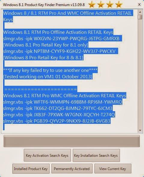 Windows 8.1 Serial Key Oluşturucu İndir
