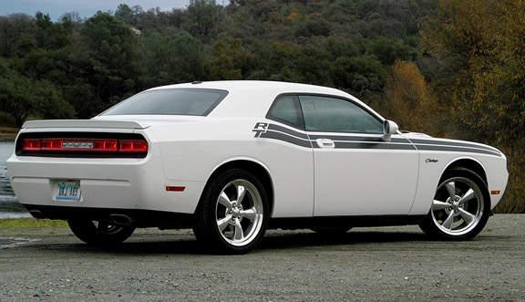 Dodge Challenger White With Red Stripes Car Interior Design