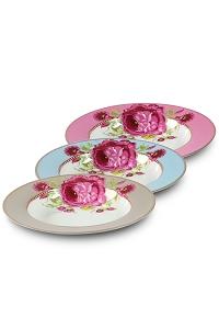 decoración toques rosas