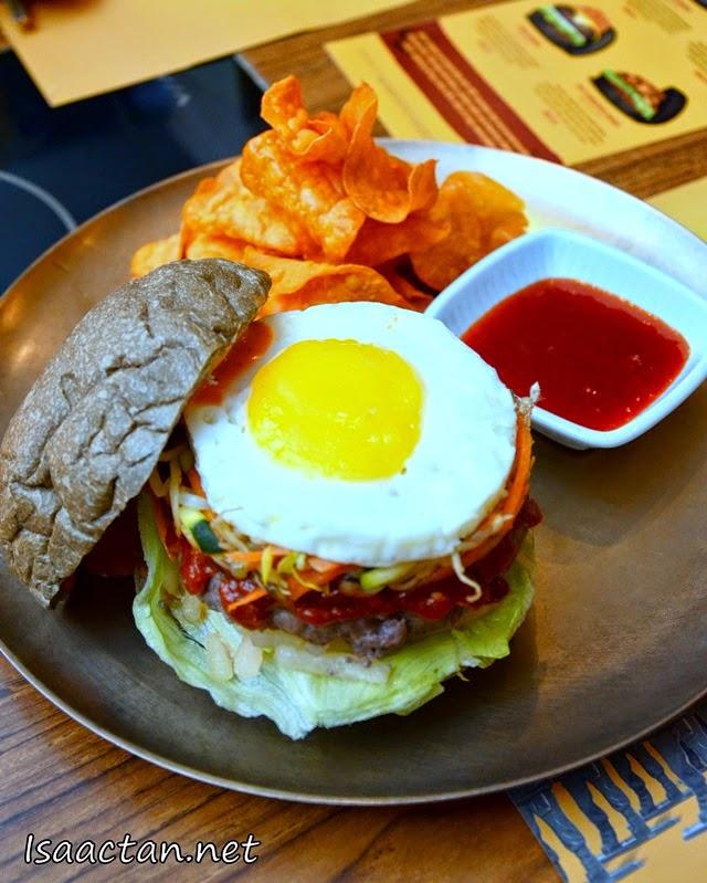 #2 Bibimbap Burger - RM25.90