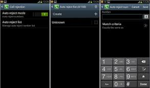 REJECT CALLS ON YOUR ANDROID DEVICES
