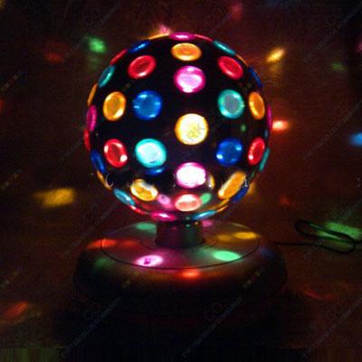Cross Mark Co.: DJ Rotating Color Disco Ball Light ...