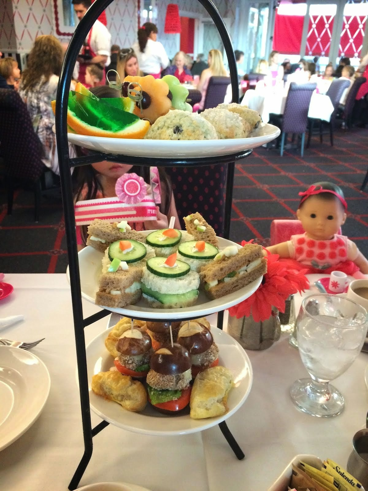 AMERICAN GIRL AFTERNOON TEA EXPERIENCE