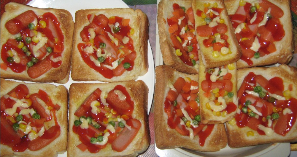 Resep Pizza Mini (Cara Membuat)