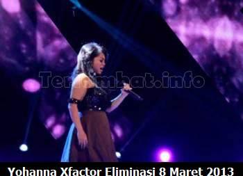 Yohanna X Factor Eliminasi 8 Maret