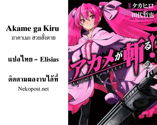 อ่านการ์ตูน Akame ga Kiru 08 ภาพที่ 44