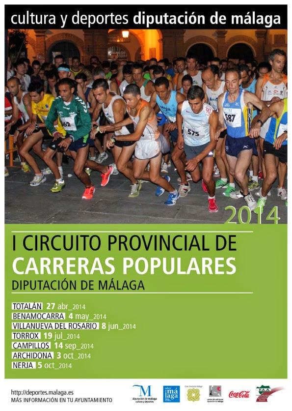 I CIRCUITO DE CARRERAS POPULARES MÁLAGA
