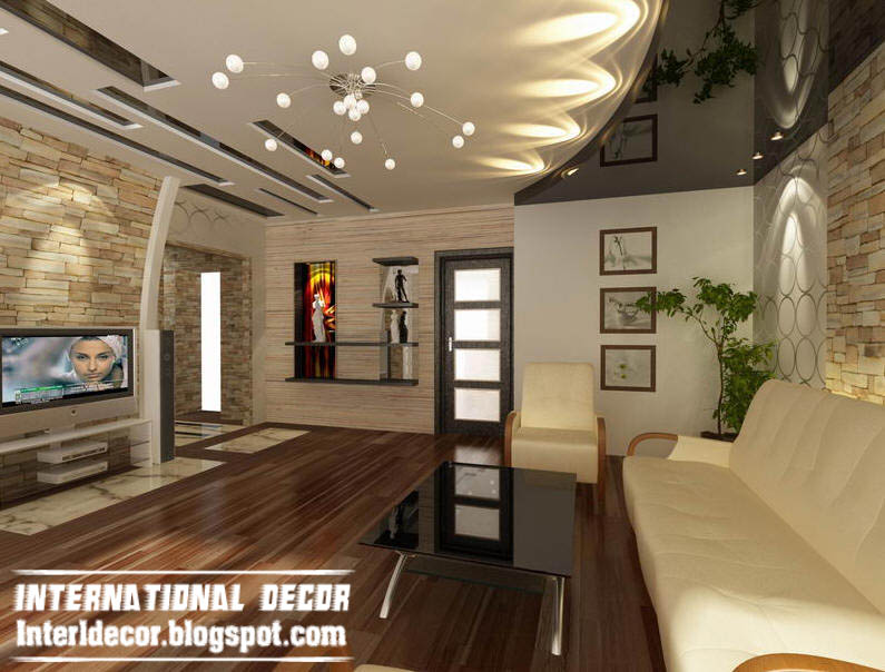 Home decor ideas modern false ceiling designs for living for International decor false ceiling