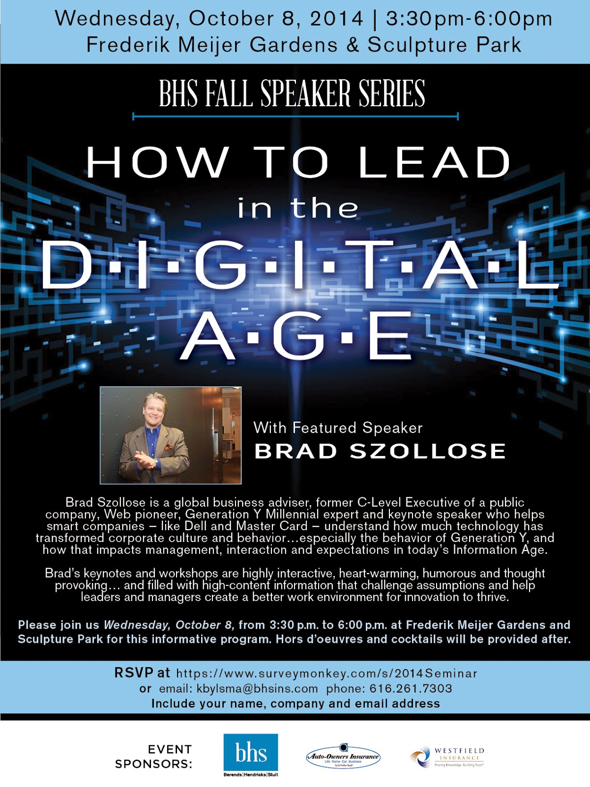 Liquid Leadership: The Official Brad Szollose Blog ...