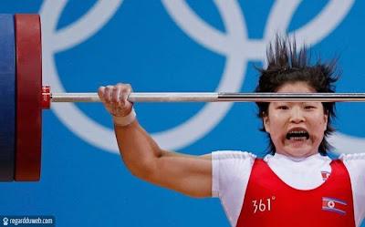 Photos amusantes et extraordinaires Sport - Haltérophilie v40