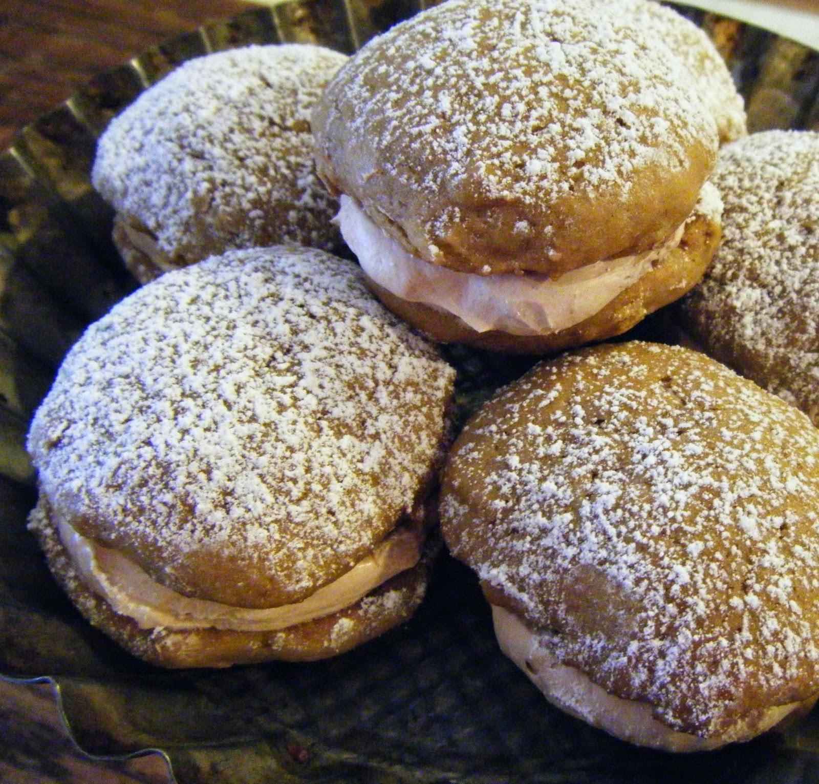 Banana Whoopie Pies with Milk Chocolate Swiss Meringue: Baked Sunday ...