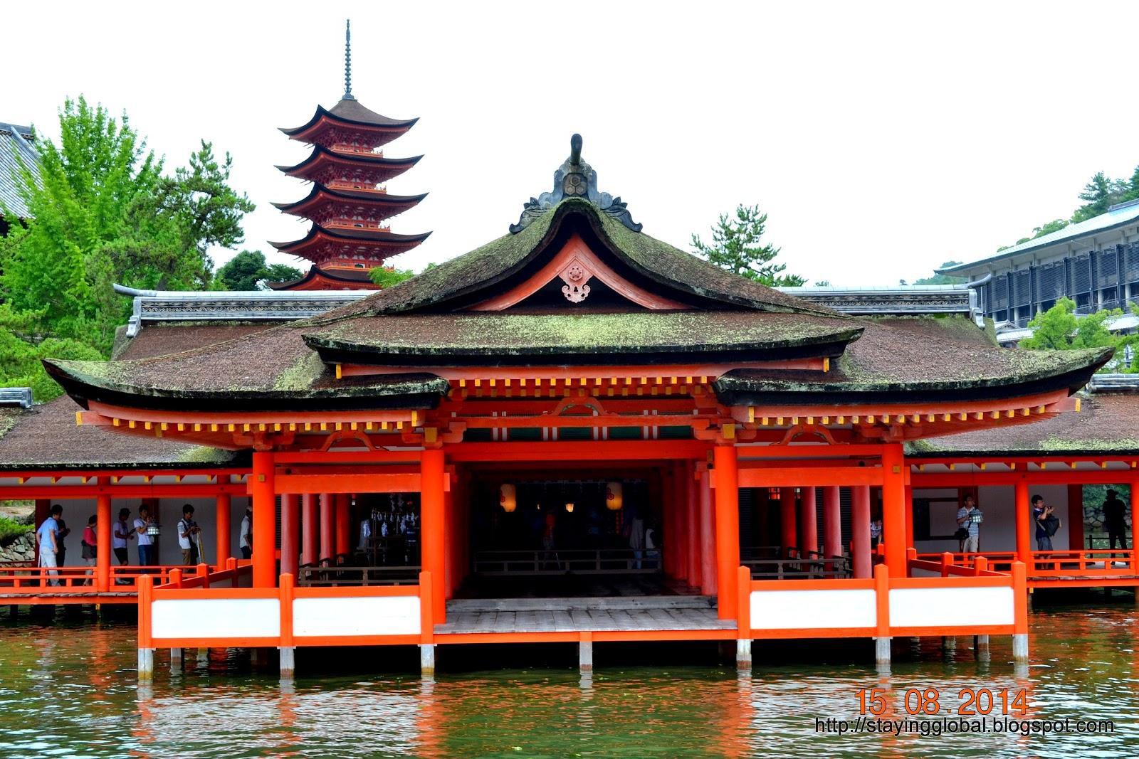 A Japanese Life: Miyajima: Itsukushima Shrine