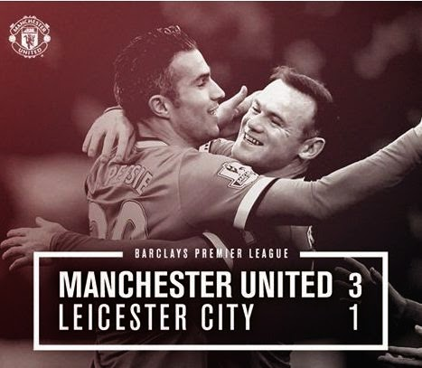Video Gol Manchester United vs Leicester City 3-1