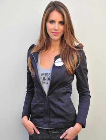 Miss Universo Chile 2011 Vanessa Ceruti